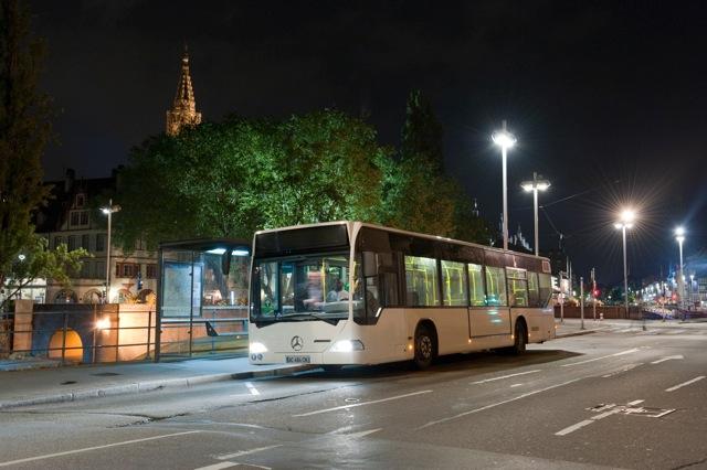 Bus ligne de nuit