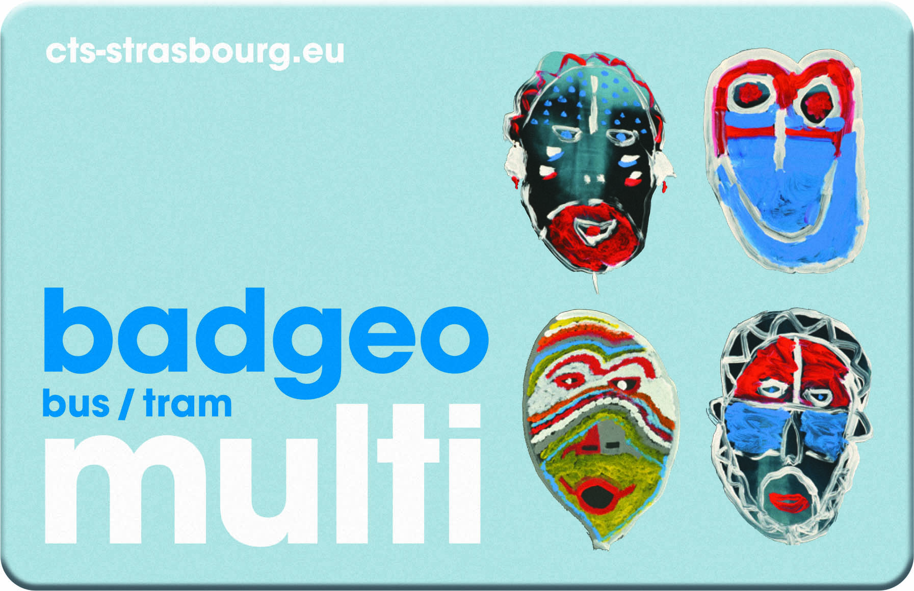 CARTE BADGEO MULTI